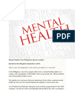 Background on Mental Health