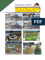 Plan de Trabajo de Educacion Ambiental 2019