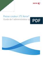 Xerox Xerox Color j75 Press With Efi Fiery Controller Manualpdfs Com