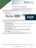 Blue Prism Data Sheet - Infrastructure Introduction v5.0 Enterprise