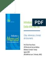 Formato Para Redactar Documentos Escritos APA