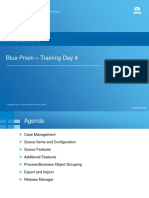 Blue Prism Training - Day 4