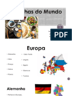 Cozinhas Do Mundo Alex. Hugo