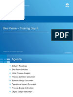 Blue Prism Training - Day 6