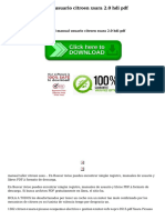 Manual Usuario Citroen Xsara 20 Hdi PDF (1)