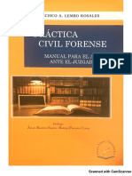 Práctica Civil Forense – Francisco Lembo