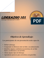 2 Liderazgo 101 (Clase)