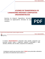 Tema 6. Organometálicos