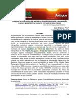 R. gest. sust. ambient., Florianópolis, v. 7, n. 4, p. 289-305, out/dez. 2018.                       289 CRIAÇÃO E AVALIAÇÃO DE MAPAS DE SUSCETIBILIDADE A INUNDAÇÃO PARA O MUNICÍPIO DE IGUAPE, ESTADO DE SÃO PAULO