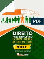 Direito Previdenciário - Evolução Histórica Da Proteção Social - Módulo 01