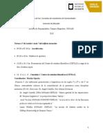 Programa Jornadas de Estudiantes - Comisión Filo