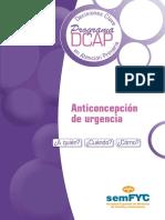 DCAP Anticoncepcion de Urgencia
