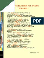 Love Collection Vol1 25pce
