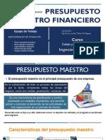 Presupuesto Maestro Financiero