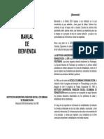 Manual de Bienvenida ESCUELA COLOMBIANA DE REHABILITACIÓN