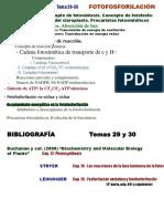 Fotofosforilacion tema 29-30
