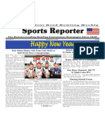 December 26 - 31, 2018  Sports Reporter