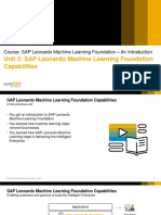 OpenSAP Leo5 Week 1 Unit 2 FOUNDATION Presentation