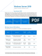 Windows Server 2019 Licensing Datasheet en US