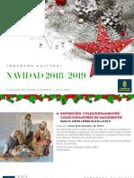 Programa Cultural Cabildo de Gran Canaria Navidad 2018