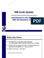 ISM Code Amendments_MSC Res 273(85)