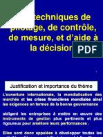 11-Techniques de Pilotage Et d'Aide a La Decision- Tbso Et Ratios Sociaux-prof-Vf-2018 Provisoire