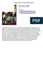 Genealogia Del Psicoanalisis