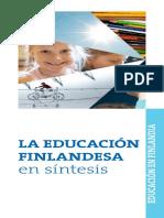 151278 education in finland spanish 2013