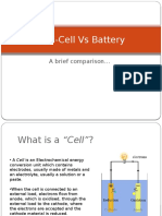 Fuelcell vs Battery