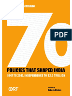 70 Policies That Shaped India.pdf