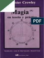 Magia(k) en Teoría y Práctica (Escaneado Completo) -Aleister Crowley