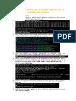 Despliegue de Servicios en Ubuntu Server Con La Herramienta Webmin