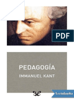 Pedagogia - Immanuel Kant.pdf