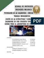 Monografía Final - Soldadura