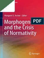 Archer 2016 Morphogenesis Crisis Normativity