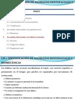 Ortodoncia. Anomalías relacionadas con hábitos anómalos.