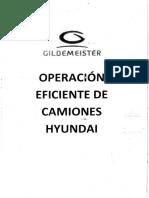Operacion Eficiente de Camiones Hyundai