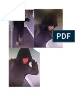 Additional Photographs of Robbery Suspect