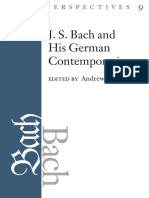 (Bach Perspectives, Volume 9) Andrew Talle-J.S. Bach and His Contemporaries in Germany-University of Illinois Press (2013)