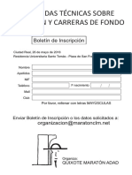 Jornadas Boletines de Inscripcion