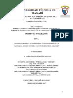 Proyecto Integrador Introduccion a la investigacion cientifica