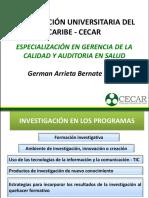 INDUCCIÓN Investigación-GCAS 2017