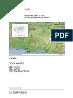[PDF] Laporan Geolistrik Desa Wates, Kecamatan Wates, Blitar