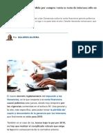 Renta Financiera_ La Pérdida Por Compra..