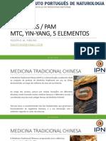 1. EMLP.pas.PAM - Introdução, História e Fundamentos MTC, Yin-Yang, 5 Elementos