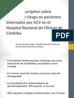 Analisis Desc Fact Riesgos Pac Internados Por ACV - HNC