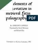 Epdf.tips Elements of Abbreviation in Medieval Latin Paleogr