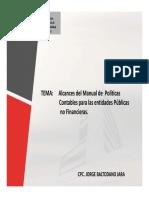 Alcances Manual Politicas Contables