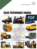 Performance Manual Volvo Construction Equipment en 21 20001111 G