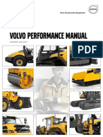 Performance Manual Volvo Construction Equipment en 21 20001111 G